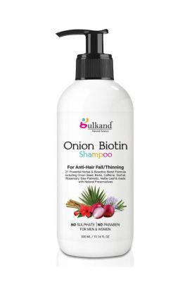 Onion Biotin Shampoo For Anti-Hair Fall/Thinning